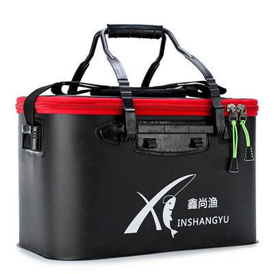 钓鱼桶eva加厚多功能特价钓鱼箱套装大容量手提可折叠便携鱼护桶