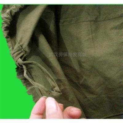 八一布裤衩军绿大平角裤老人纯棉布男士高腰老式棉质宽松抽绳内裤