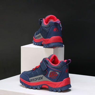 彼得潘正品男童鞋保暖儿童鞋秋冬季小孩子二棉鞋中大童运动鞋1017