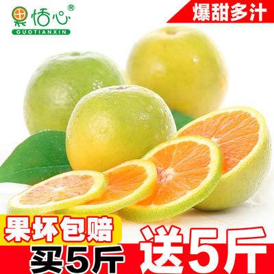 新鲜冰糖橙甜橙10斤装新鲜水果清甜橙子非麻阳脐橙夏橙2-5斤包邮