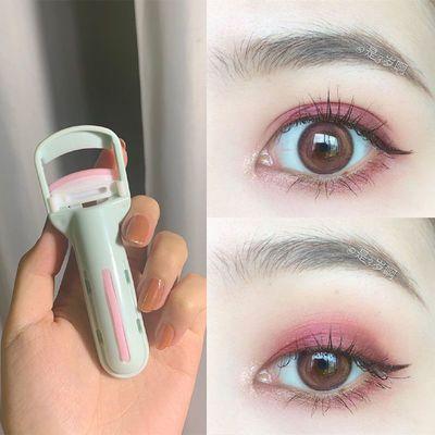 抖音同款化妆工具 新款玛莉安按压睫毛夹卷翘持久不夹眼皮睫毛器