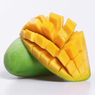 越南玉芒青芒果3斤装当季新鲜水果批发应季节性水果单果200-800g