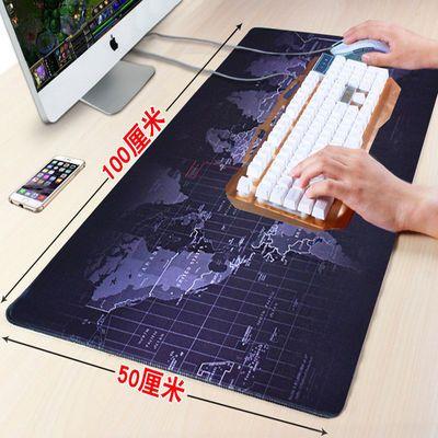 电脑鼠标垫暖手冬季加厚保暖垫加热手套带护腕发热垫暖手宝