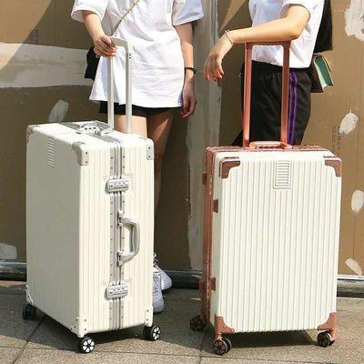 行李箱拉杆箱旅行箱24寸密码箱万向轮登机箱男女韩版学生箱皮箱子主图