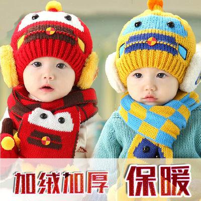 婴儿帽子大红色生日周岁喜庆带辫子宝宝唐装帽棉地主阿哥春秋薄【3月17日发完】