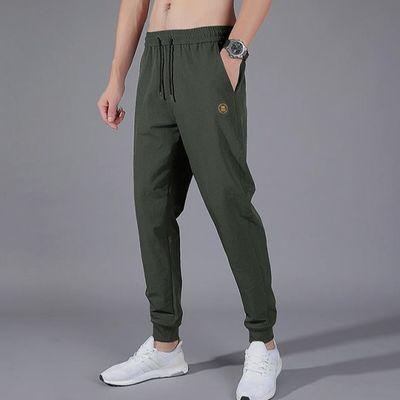 颜色:1906灰色,1906黑色,1906军绿色;基础风格:时尚都市;适用场景:其他休闲;服装版型:修身;裤长:九分裤;颜色:军绿色;