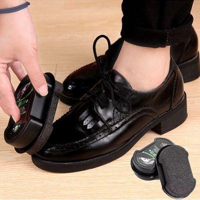 标奇擦鞋棉鞋蜡擦速亮清洁护理无色海绵擦皮鞋皮具保养面鞋油刷