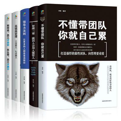 不懂带团队你就自己累管理学类书籍领导力企业管理方面的书籍