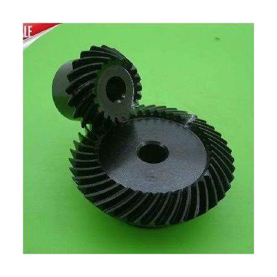 1.5模[螺旋锥齿轮伞齿轮]速比1:2大型机械配件90度换向减速