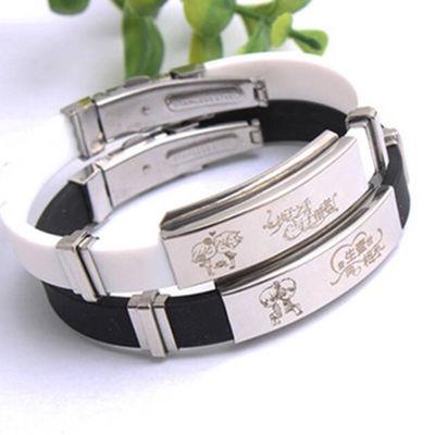 星座刻字手链闺蜜情侣手链男女学生日韩版礼物韩版定制钛钢手环