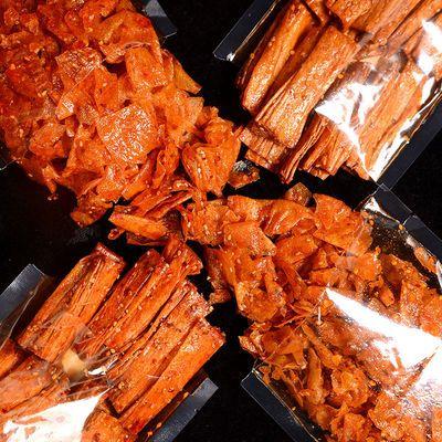 湖南特产手工 网红辣条香辣皮组合 豆干零食麻辣小吃豆卷125g/2包