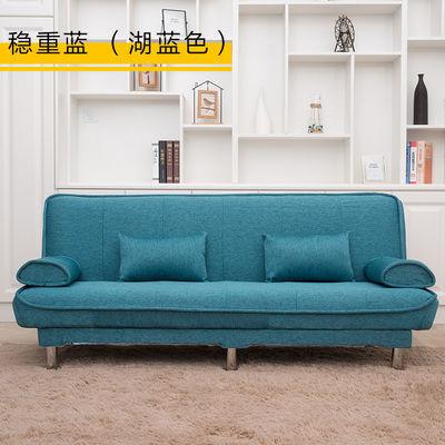 可拆洗沙发床简易多功能折叠沙发双人三人小户型两用布艺懒人沙发