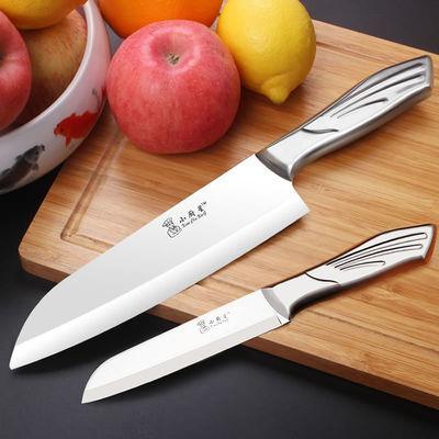 锋利厚实不锈钢厨师刀家用切菜刀瓜果刀厨房切水果刀削皮刀小刀具