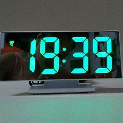 创意大屏幕LED电子钟数字钟卧室床头闹钟夜光静音学生插电式时钟