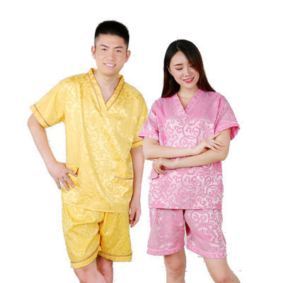 汗蒸服男女款情侣款套装棉桑拿足浴美容安然纳米大码浴服包邮加厚