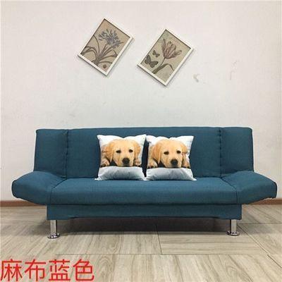 厂家直销折叠沙发床厅单人双人三人小户型多功能布艺沙发懒人沙发