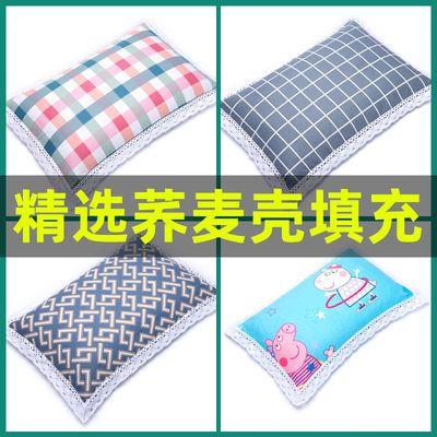 纯棉老粗布全荞麦壳枕头护颈椎枕芯枕套荞麦皮成人学生儿童枕单人