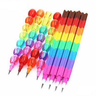 免削自动铅笔芯下蛋笔积木笔可爱儿童小学生活动铅导弹笔文具