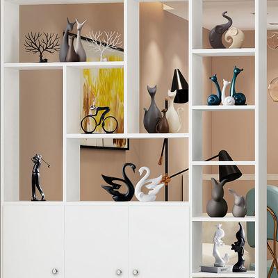酒柜装饰品摆件北欧电视柜摆件家居现代简约创意客厅玄关结婚礼物
