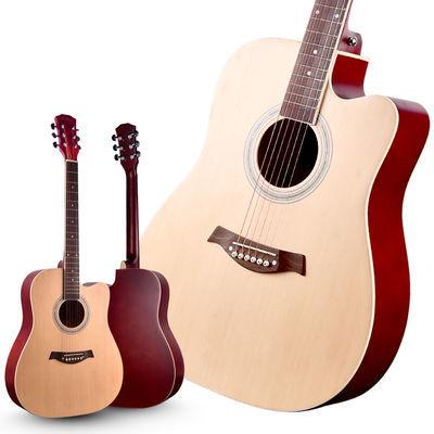 41寸38寸初学者民谣木吉他学生练习青少年入门男女练习新手jita