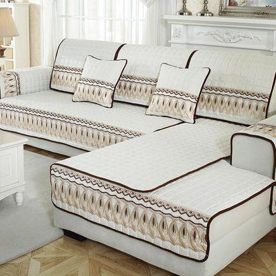 欧式四季通用简约现代全包防滑沙发垫万能沙发套罩巾全盖坐垫子