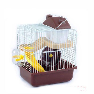 送饲养包仓鼠笼 金丝熊仓鼠笼子双层仓鼠窝别墅套餐用品 仓鼠活体