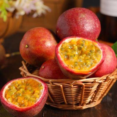 广西百香果净重5斤特级大果新鲜鸡蛋果酱原浆大红果热带当季水果