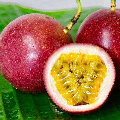 广西新鲜百香果2斤大果包邮精装现摘现发当季西番莲水果果汁酸爽