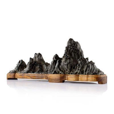 故宫文创千里江山卧香炉办公室书房熏香摆件纯铜线香炉家用香薰炉