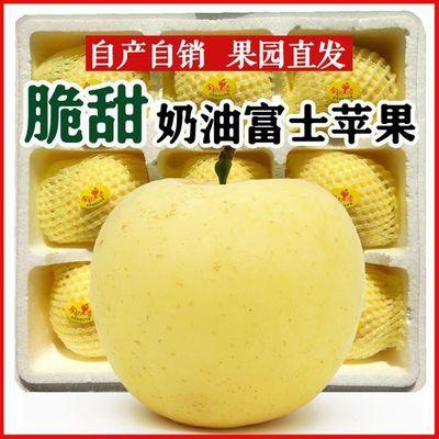 奶油红富士苹果黄金山东烟台脆甜丑冰糖心新鲜水果平果批发非金帅