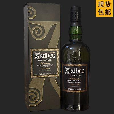 洋酒英国进口Ardbeg阿德贝哥阿贝乌干达单一麦芽苏格兰威士忌54.2