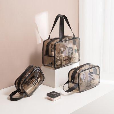 化妆包透明便携大容量韩版学生可爱旅行洗漱包防水化妆品收纳套装