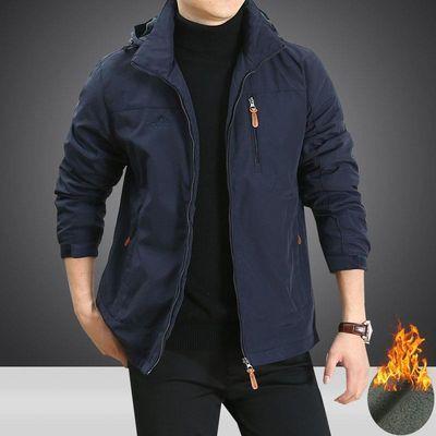 秋冬季棉衣男吉普盾宽松大码保暖加厚男装棉服加绒袄子外套男上衣