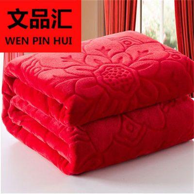 加厚冬季保暖珊瑚绒毯子双人毛毯被子盖毯学生加绒床单宿舍盖毯子