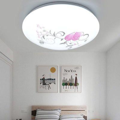 简约现代圆形亚克力led吸顶灯厨房阳台走廊过道楼梯卧室客厅灯具