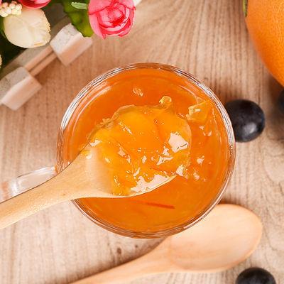 【买就送木勺】韩情蜂蜜柚子茶柠檬茶百香果茶水果茶果酱500g瓶
