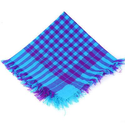 秋冬针织包头老人方巾女加厚保暖中老年人围巾冬妇女老式四方头巾