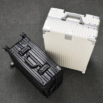 铝框行李箱ins网红女旅行箱小型密码箱韩版万向轮学生轻拉杆箱男