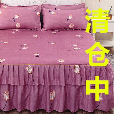 韩式公主风床裙单件席梦思床罩床裙床套单件床笠1.5/1.8/2.0m床