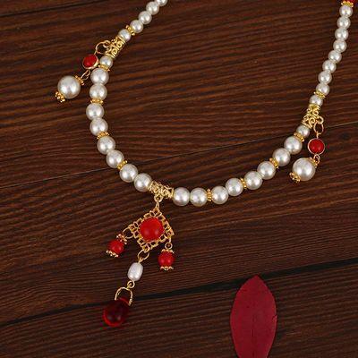 手工明制软璎珞古风饰品亚克力珍珠项圈襦裙汉服配饰古装古典饰品