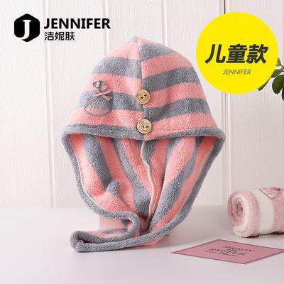 宝宝儿童干发帽包头巾女童毛巾卡通公主擦头发速干超吸水可爱长发