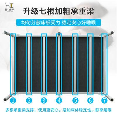 折叠床单人床 家用成人经济型办公室简易双人木板午休床儿童铁床