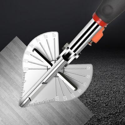 木工线槽剪刀45度角度剪多功能扣条剪封边神器90电工卡条折边钳子