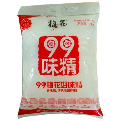 正宗 99梅花味精2000克 实惠大包批发餐饮替三鲜鸡精粉家用调味料