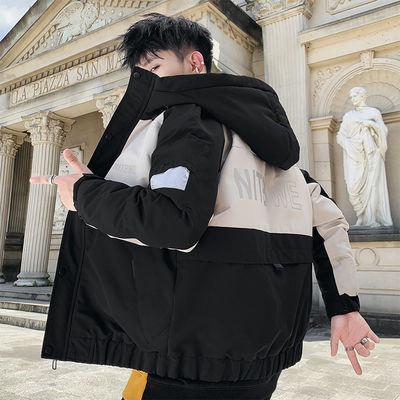 外套男学生韩版潮流棉衣男士冬季新款男装棉袄短款冬装棉服男青年