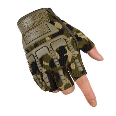 半指手套男秋冬运动骑行户外耐磨防滑健身钓鱼全指山地车战术手套
