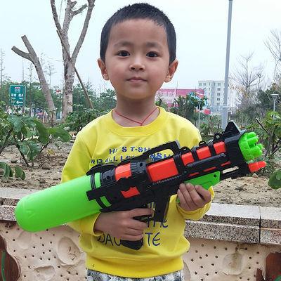 儿童玩具水枪打气沙滩背包呲水枪小宝宝喷水高压戏水男孩滋迷你女