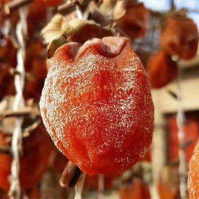 【买一送一】柿饼农家自制柿子饼500g无添加出口级吊柿饼PK富平