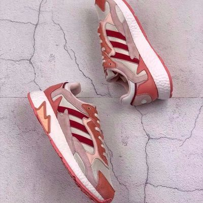 Adidas三叶草 男女情侣款 复古boost跑步鞋 EG4789 EH1346 FV4715