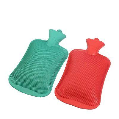 热水袋注水毛绒布套橡胶暖水袋暖手宝暖脚袋迷你小号加厚防爆学生